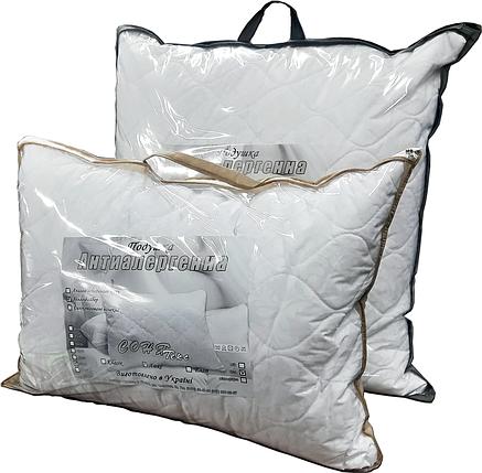 Подушка гипоаллергенная 50х70 с наволочкой на молнии (холлофайбер) - СОНЯ ТЕКС, фото 2
