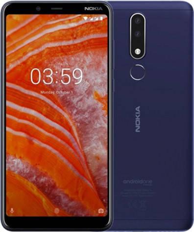 Nokia 3.1 Plus TA-1113 3/32Gb blue, фото 2