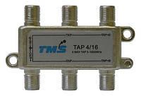 Ответвитель абонентский TAP 4/16 TMS (четыре выход -16дБ, один проходной выход)