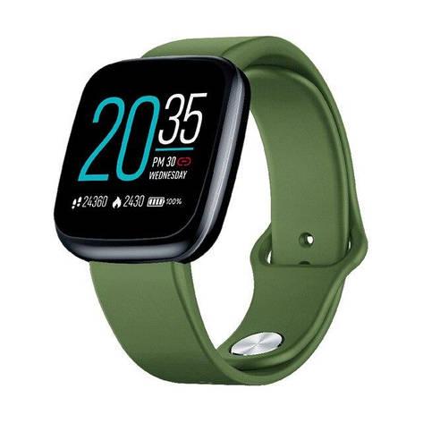 Смарт часы Zeblaze Crystal 3 green, фото 2