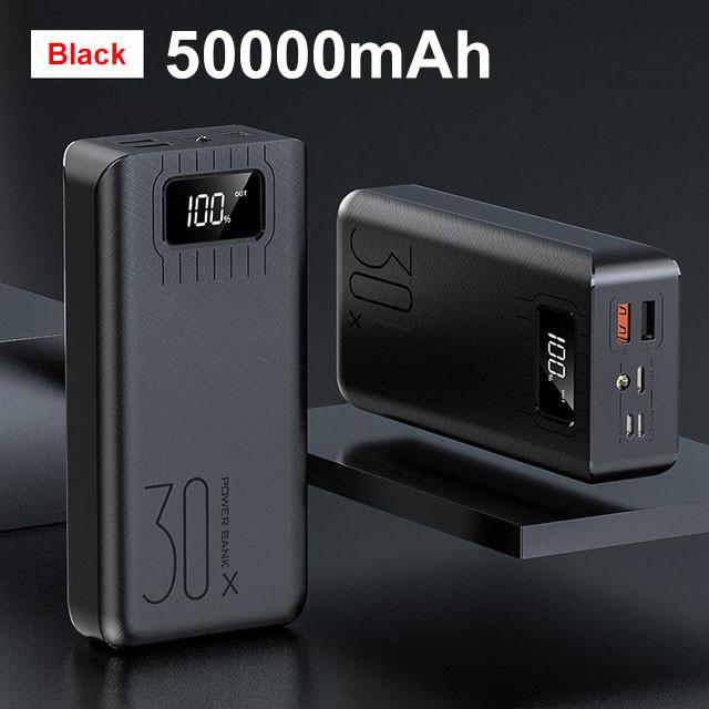 Банк заряда XDOU 30x 50000mAh black