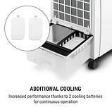 Мобільний охолоджувач, зволожувач повітря, вентилятор OneConcept CTR-1, фото 3
