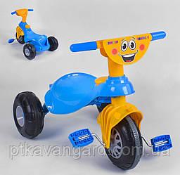 Детский велосипед 3-х колёсный Жёлто-синий Pilsan My Pet 07-132