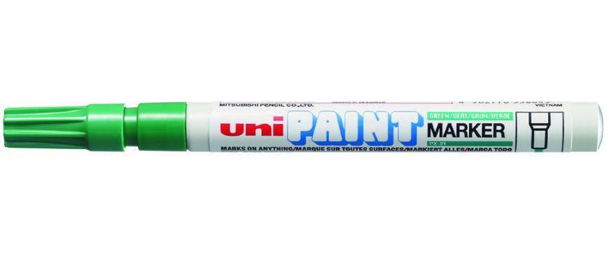 Маркер перманентный Uni Paint PX-21 0,8-1,2мм овальный, фото 2