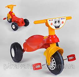 Детский велосипед 3-х колёсный Красно-жёлтый Pilsan My Pet 07-132