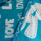 Комплект постільної білизни полуторний 1.5 спальний бязь, фото 2