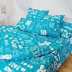 Комплект постільної білизни полуторний 1.5 спальний бязь, фото 5