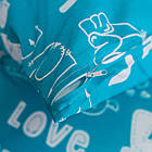 Комплект постельного белья евро бязь, фото 4