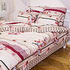 Комплект постельного белья полуторный 1.5 спальный бязь, фото 3