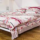 Комплект постільної білизни; двоспальний 2 спальний бязь, фото 2