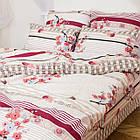 Комплект постільної білизни; двоспальний 2 спальний бязь, фото 3