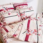 Комплект постільної білизни; двоспальний 2 спальний бязь, фото 5