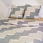 Комплект постільної білизни євро сатин, фото 2