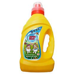 """Дитяче засіб для прання для новонароджених, концентрат """"Захист від плям"""" 2л, (0+)"""