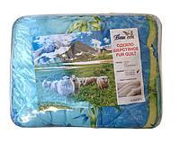 """Одеяло """"Люкс топ"""" мех овчины, 150х210см, расцветка в ассортименте"""