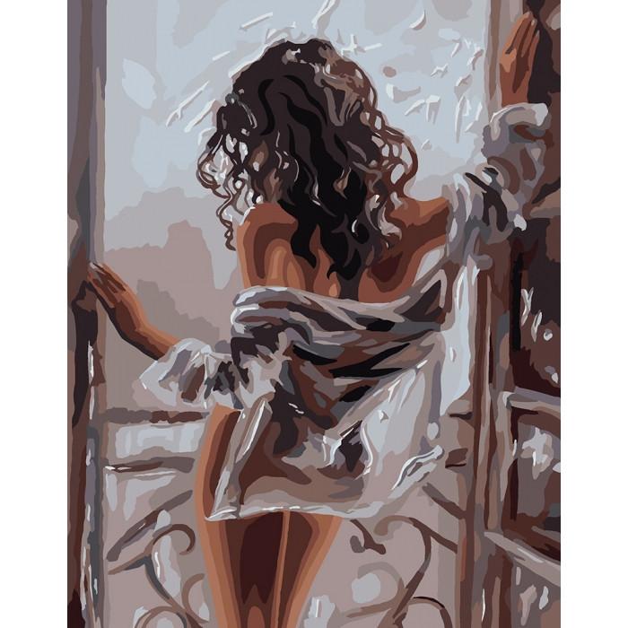 Картина по номерам Жіноча красота, 40x50 см., Идейка