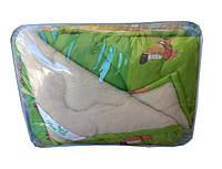 """Одеяло """"Люкс топ"""" мех овчины, 180х210см, расцветка в ассортименте"""
