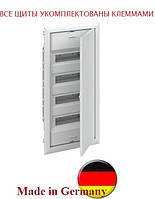Распределительный щит на 48 модулей внутренней установки с металлической дверцей АВВ UK648Е3