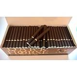 Гільзи для сигарет коричневі Dark Horse 200 шт, фото 2