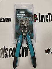 Стриппер Щипцы для зачистки электропроводов, 0,05-8 кв. мм// GROSS 17718