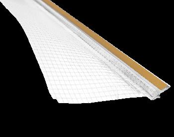 W-PROF профиль-примыкания к оконным (дверным) отверстиям со стекловолокнистой сеткой 2,5м