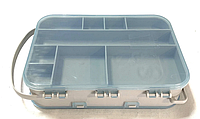 Коробка двухсторонняя Aquatech 2515 для рибалки, органайзер