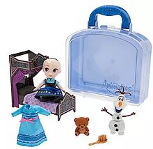 Кукла Эльза мини аниматор Дисней Disney Animators' Collection Elsa Mini Doll Play Set