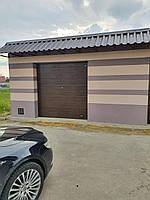 Ворота гаражные секционные DoorHan 2500*2500 (коричневый цвет), фото 3