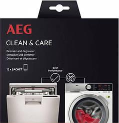 Средство для удаления жира и накипи AEG Electrolux (12 пакетиков, Италия)