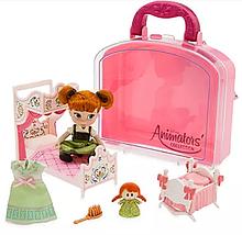 Кукла Анна мини аниматор Дисней Disney Animators' Collection Anna Mini Doll Play Set