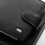 Шкіряний чоловічий гаманець / Кожаный мужской кошелек DR. BOND M182-1 black, фото 2