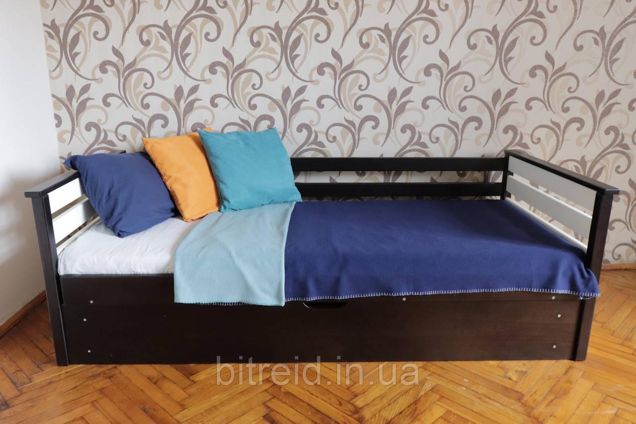 """Дитяче ліжко з підйомним механізмом  """"Телесик"""""""