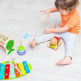 Развивающие игрушки-конструкторы из дерева