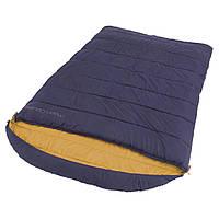 Спальный мешок Easy Camp Moon Double/+5°C Blue (Right)
