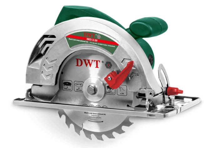 Циркулярная пила DWT HKS12-59, фото 2