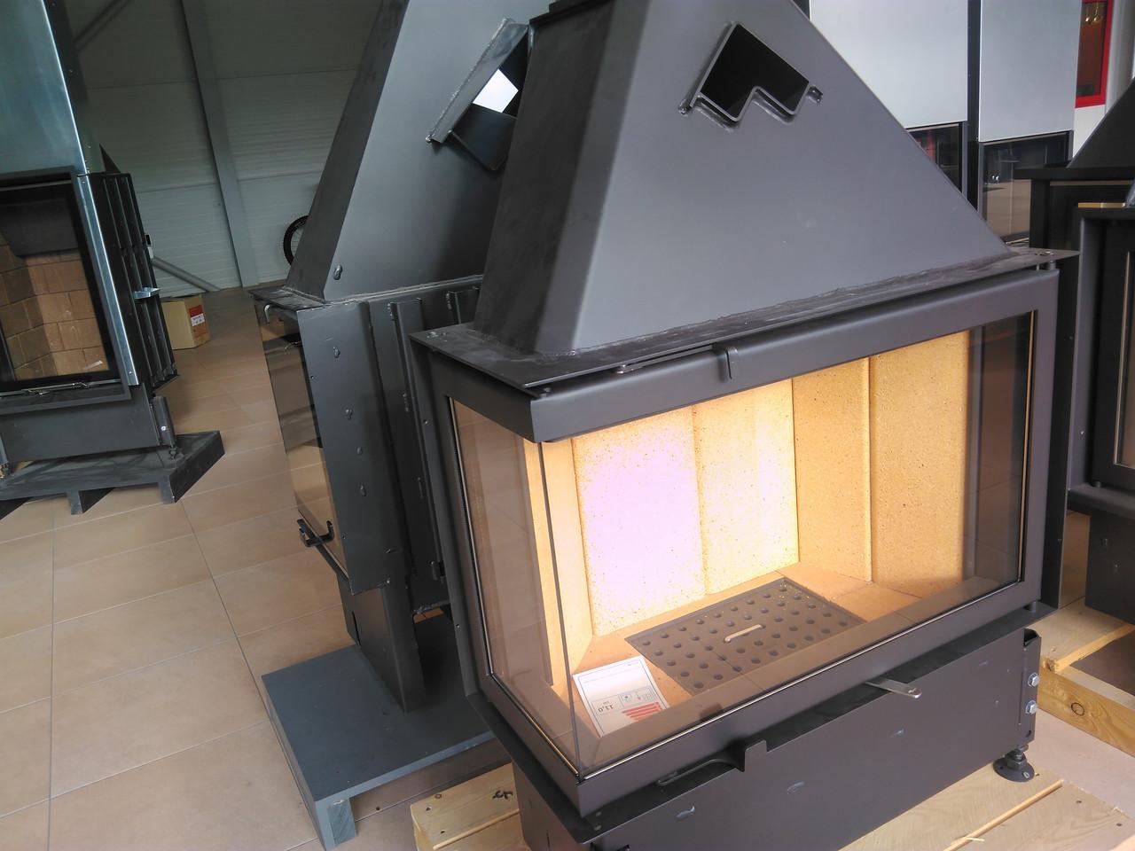 Пристенно угловой камин Kobok Chopok r90-s 450 730/570