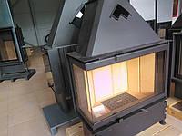 Сталева камінна топка Kobok Chopok r90-s 450 730/570