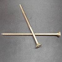 Шуруп универсальный - 6.0х100 - 100 шт/уп - саморез желтый