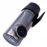 DVR Видеорегистратор для авто компактный с креплением 3 мп 1280х720 wifi 6744, фото 2