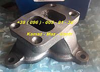 7403-1008031  Патрубок коллектора выпускной  левый в сборе (на дв. 7403) КАМАЗ - ПАО КАМАЗ