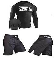 Комплект для кроссфита/единоборств Bad Boy Рашгард + шорты мма