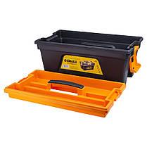 Ящик для инструмента со съёмной крышкой 460×246×246мм SIGMA (7403701), фото 3