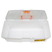 Ящик для инструмента (прозрачный) 400×205×147мм SIGMA (7404241), фото 3