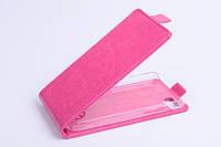 Чехол флип для Blackberry Z10 розовый