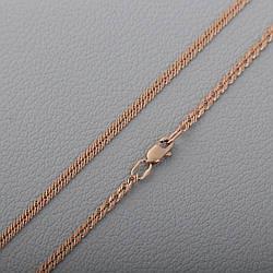 Золотая цепочка тройной ромб П33303041
