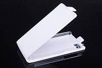 Чехол флип для Blackberry Z10 белый