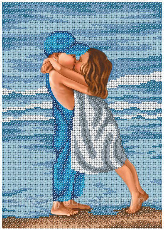 бисером схема вышивка поцелуй