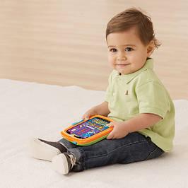 Дитячі ноутбуки, планшети, абетки, телефони, навчальні іграшки