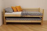 """Односпальне ліжко з дод. висувним сп.місцем """"Сімба, фото 3"""