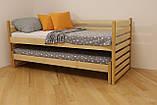 """Односпальне ліжко з дод. висувним сп.місцем """"Сімба, фото 4"""